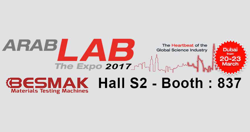 BESMAK - Arab Lab 2017'de
