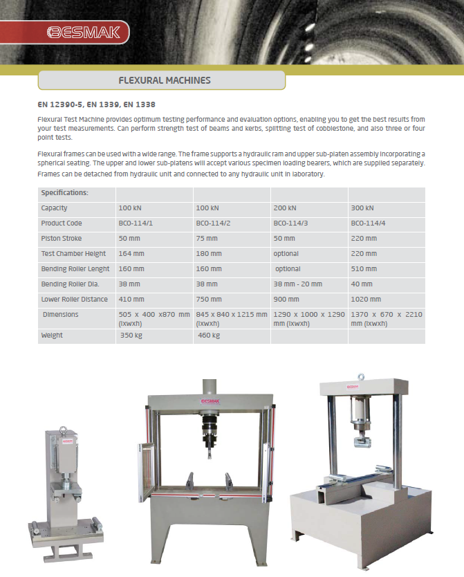 Flexural Test Machines