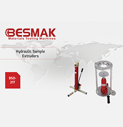 Hydraulic Sample Extruders
