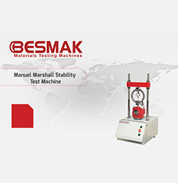 Manuel Marshall Stability Test Machine