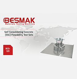 Self Consolidating Concrete (SSC) Flowability Test Sets